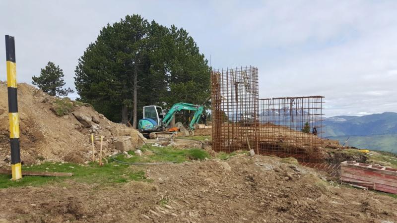 Construction télésiège fixe 4 places Bisorne (TSF4) - LST, Ax 3 Domaines 35765310