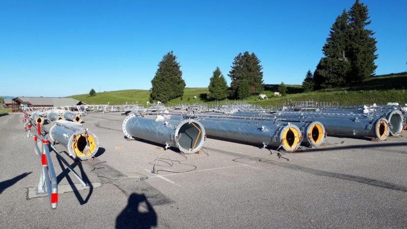 Construction TMX Belvédère, TKE Aigle & Bambi - Chantiers le Semnoz 36289010