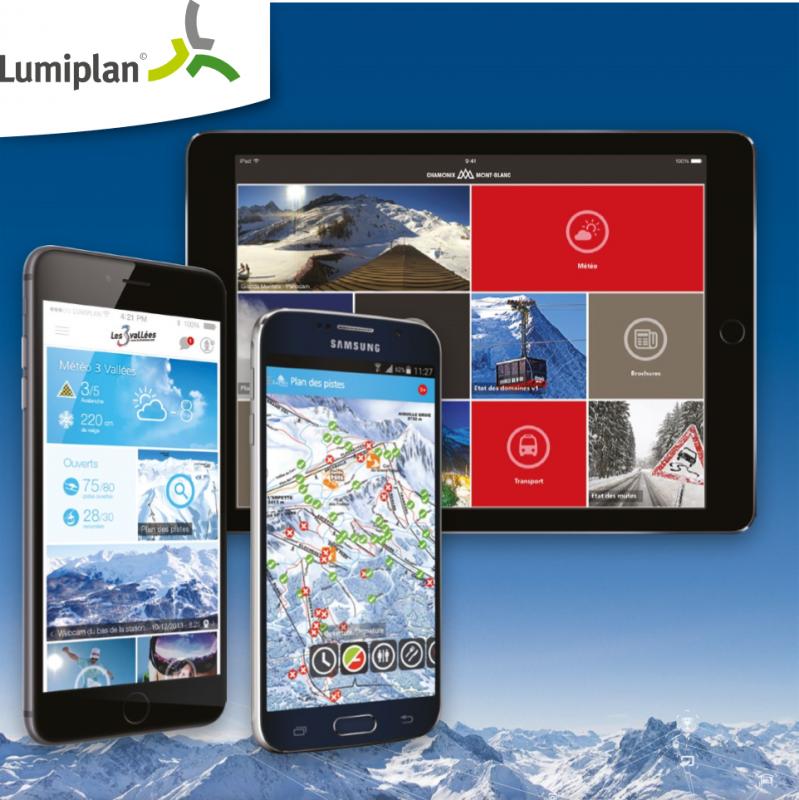 Applications smartphones Lumiplan 61497110