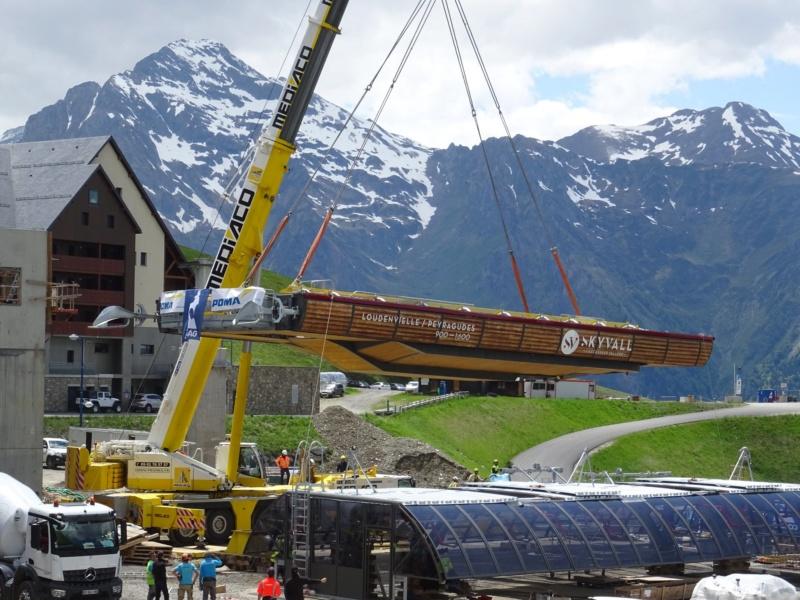 Construction Télécabine débrayable 10 places (TCD10) Peyragudes - Loudenvielle - Page 4 61872010