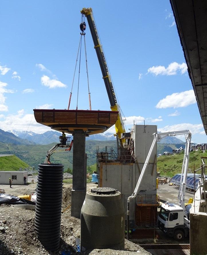 Construction Télécabine débrayable 10 places (TCD10) Peyragudes - Loudenvielle - Page 4 62010110