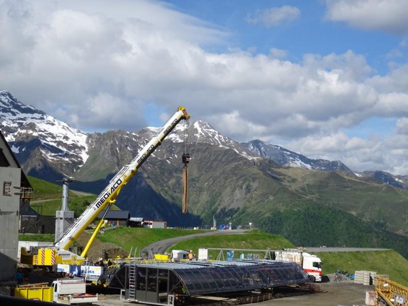 Construction Télécabine débrayable 10 places (TCD10) Peyragudes - Loudenvielle - Page 4 62147710
