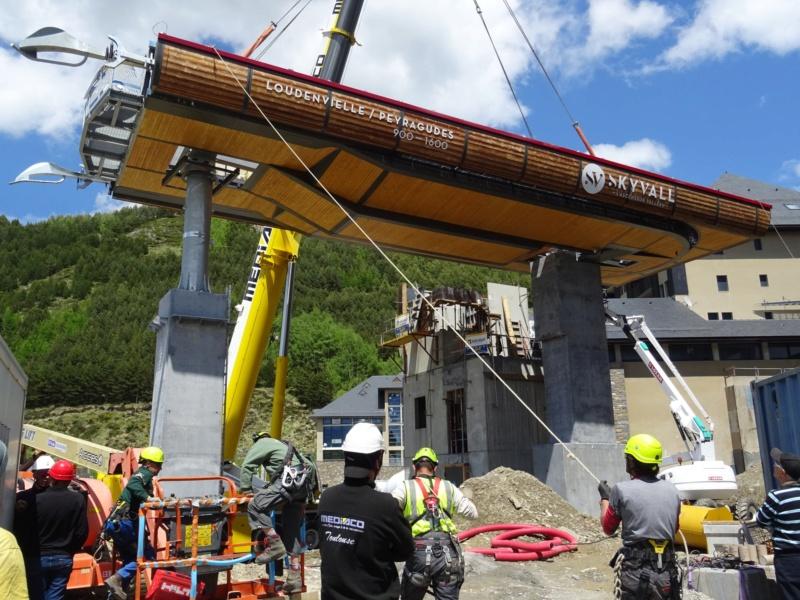 Construction Télécabine débrayable 10 places (TCD10) Peyragudes - Loudenvielle - Page 4 62322710
