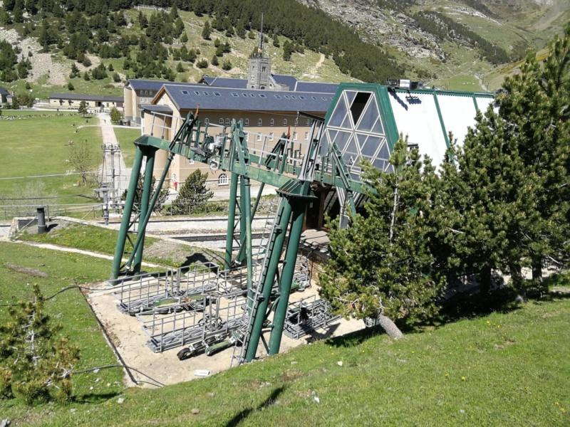 Chantier remplacement télécabine pulsée Coma del Clot - Vall de Núria 62491210