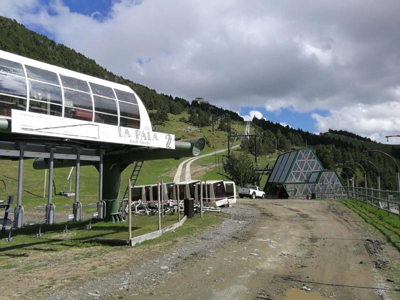 Chantier remplacement télécabine pulsée Coma del Clot - Vall de Núria 62562610