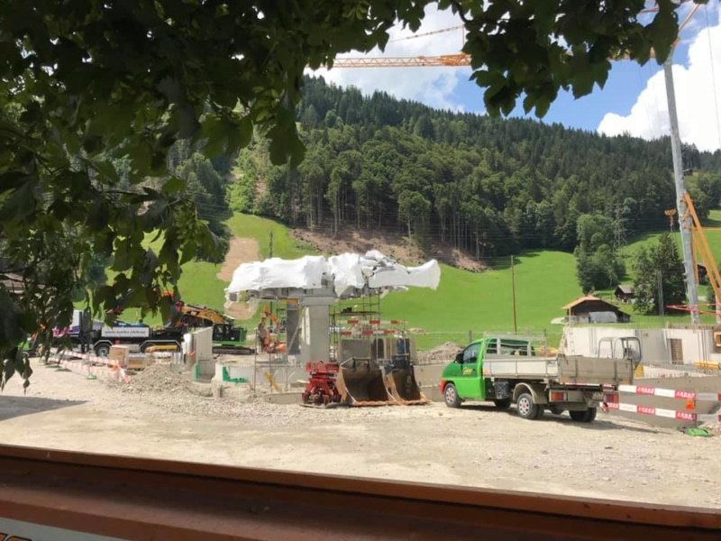 Construction télécabine 10 places Eggli (Gstaad BE) 67083310