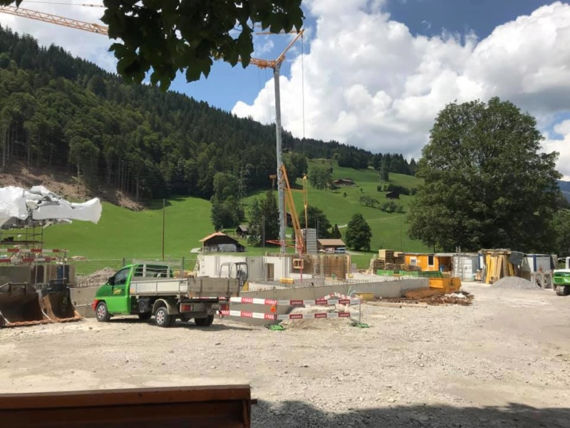 Construction télécabine 10 places Eggli (Gstaad BE) 67346210