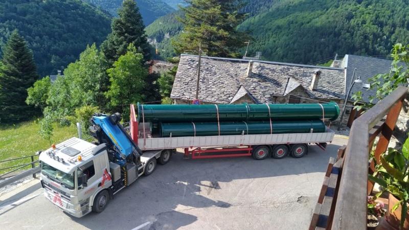 Chantier remplacement télécabine pulsée Coma del Clot - Vall de Núria 67516610