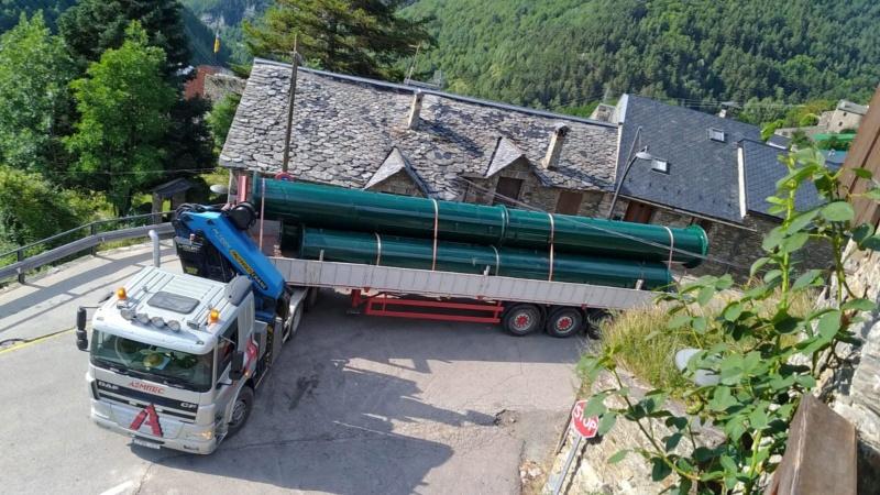Chantier remplacement télécabine pulsée Coma del Clot - Vall de Núria 68252710