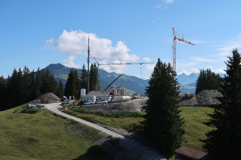 Construction télécabine 10 places Eggli (Gstaad BE) 68466510