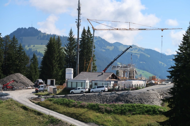 Construction télécabine 10 places Eggli (Gstaad BE) 68717410