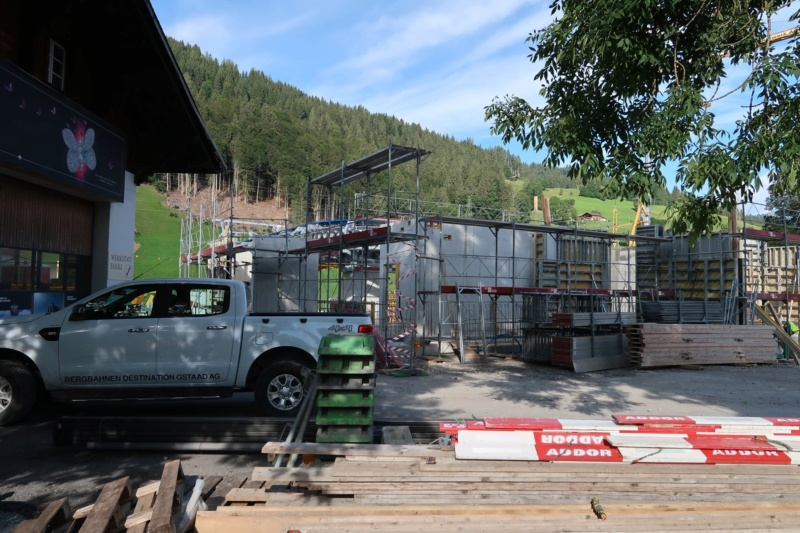 Construction télécabine 10 places Eggli (Gstaad BE) 69364610