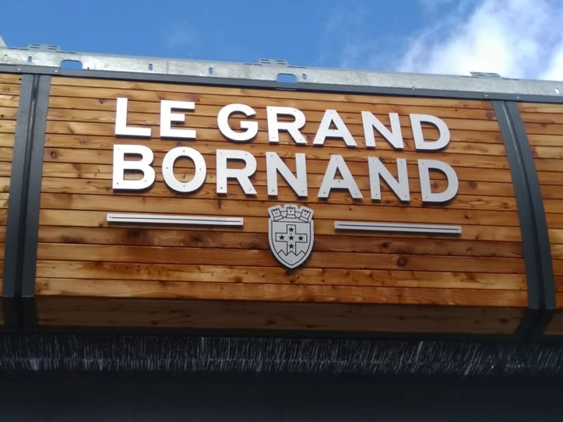 Construction télésiège débrayable (TSD6) les Charmieux - Grand Bornand 71846810