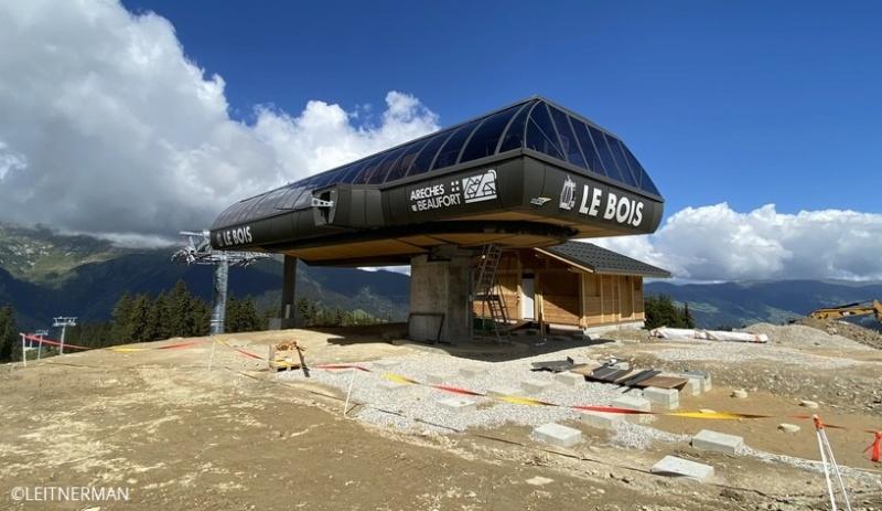 Construction Télécabine débrayable 10 places (TCD10) du Bois - Arêches 72610