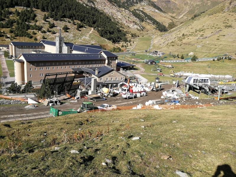 Chantier remplacement télécabine pulsée Coma del Clot - Vall de Núria 72762410