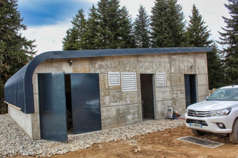 Construction usine à neige à Ax 3 Domaines (Manseille)  75446610