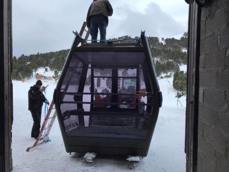 Remplacement des cabines TCD les Pèlerins - Les Angles 75552810