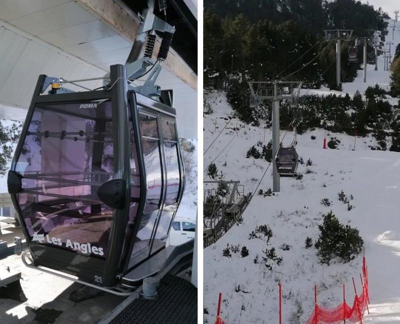 Remplacement des cabines TCD les Pèlerins - Les Angles 78087411
