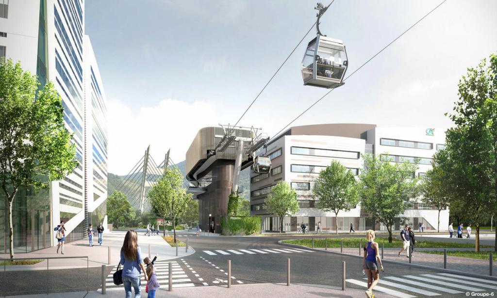 Construction Téléphérique urbain Fontaine - Saint Martin le Vinoux (Grenoble) 7951_910
