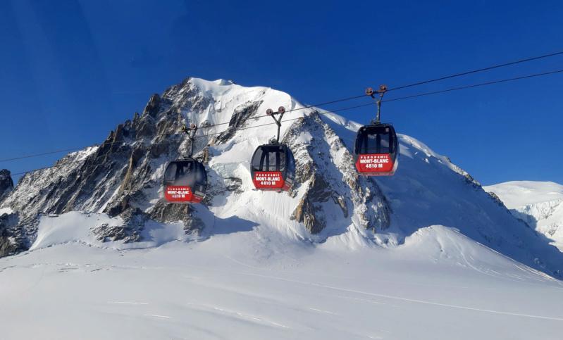 Télécabine bicâble pulsé 12 places (TCP 12) Panoramic Mont-Blanc 93702210