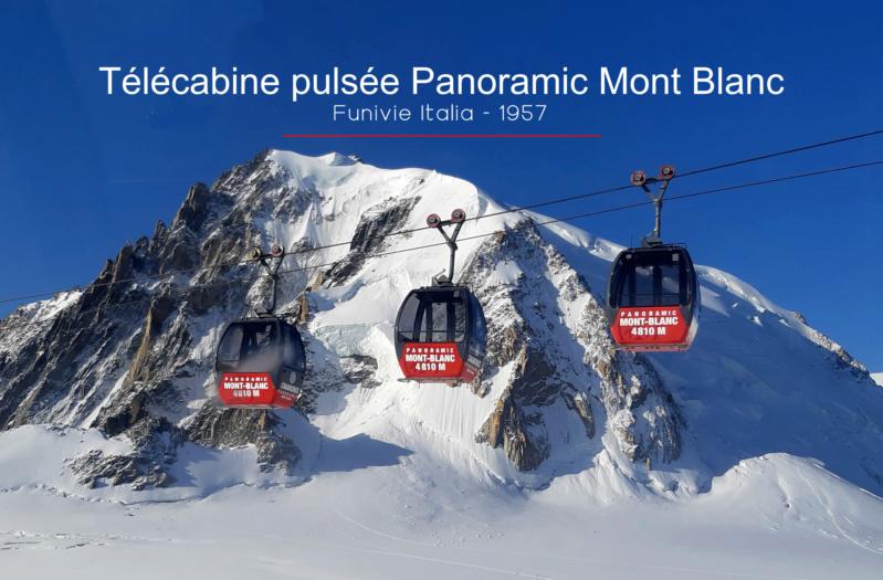 Télécabine bicâble pulsé 12 places (TCP 12) Panoramic Mont-Blanc 93702211