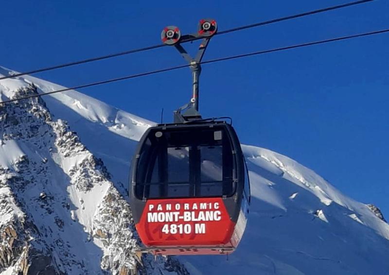 Télécabine bicâble pulsé 12 places (TCP 12) Panoramic Mont-Blanc 93702212