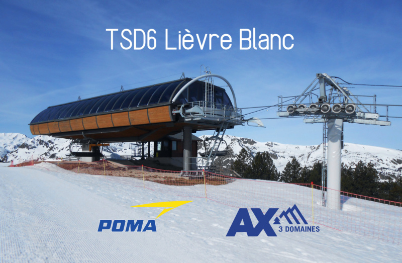 Télésiège débrayable 6 places (TSD6) Lièvre blanc Arrivz10