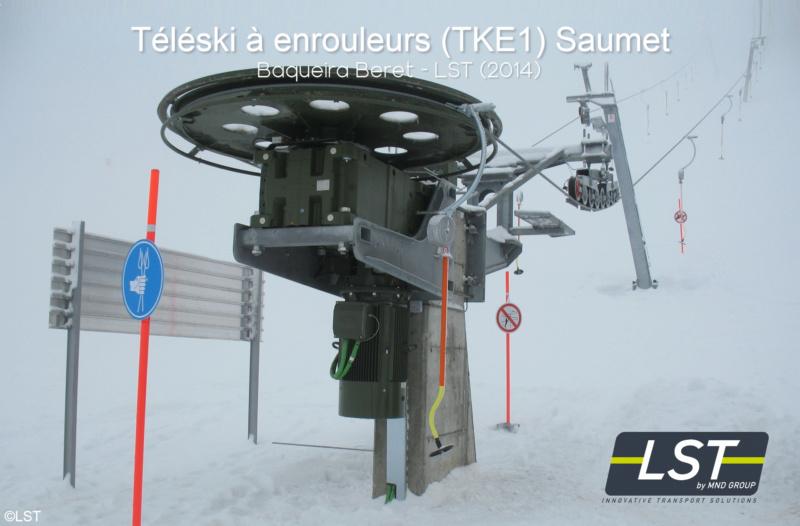 Téléski à enrouleurs (TKE1) Saumet Baquei11