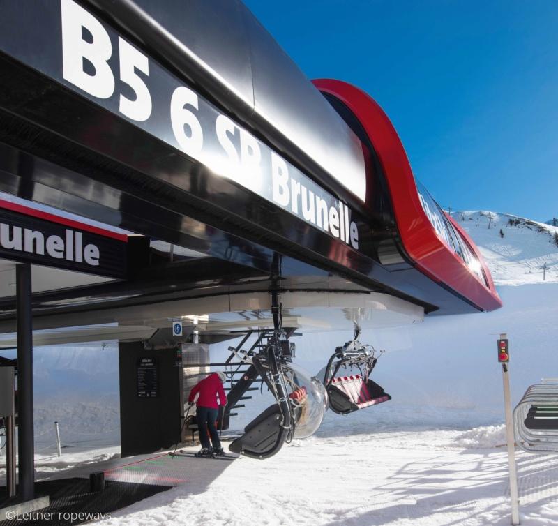 Télésiège débrayable 6 places (TSD6) Brunelle Brunel13