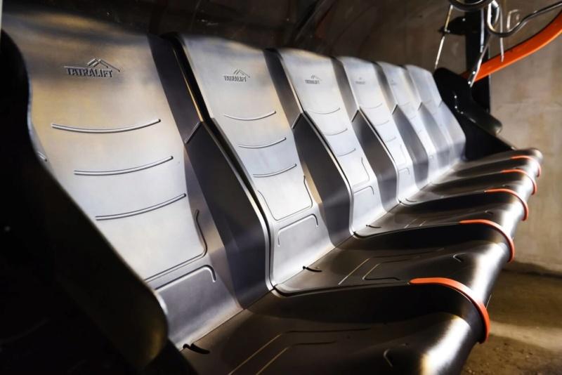 Sièges pour télésièges débrayables 6 places SLO6 Tatralift C-mare13