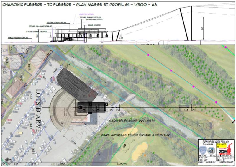 Construction télécabine débrayable 10 places (TCD10) de la Félgère - Doppelmayr Captur11