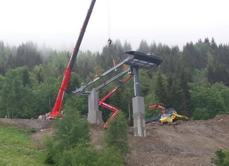 Construction télécabine débrayable (TCD10) Eau d'Olle Express - Oz Chanti11