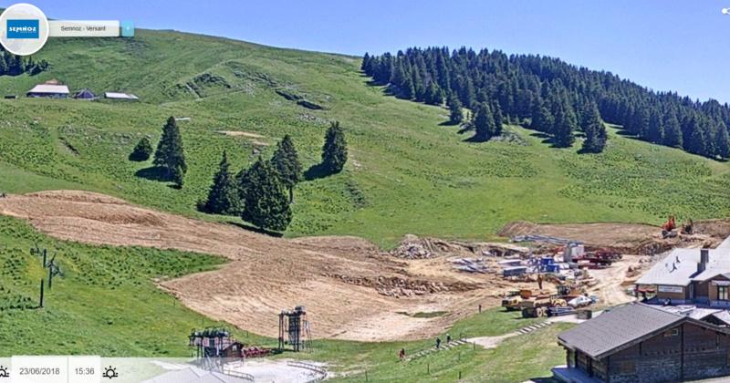 Construction TMX Belvédère, TKE Aigle & Bambi - Chantiers le Semnoz Chanti11