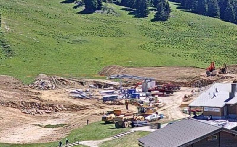 Construction TMX Belvédère, TKE Aigle & Bambi - Chantiers le Semnoz Chanti12