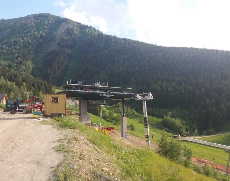 Construction télécabine débrayable (TCD10) Eau d'Olle Express - Oz Chanti13