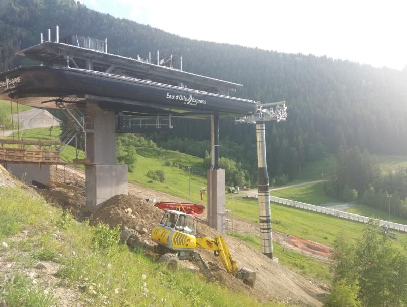 Construction télécabine débrayable (TCD10) Eau d'Olle Express - Oz Chanti16