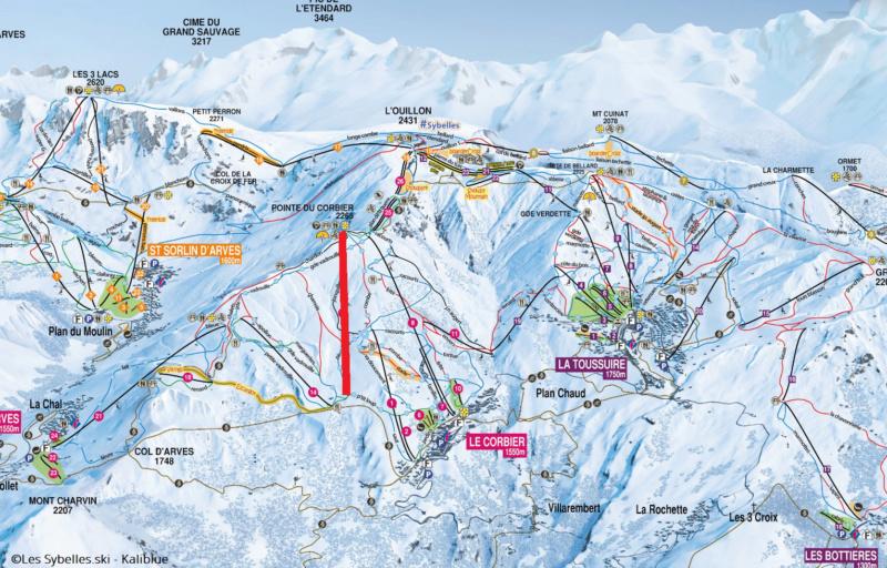 Télésiège débrayable 6 places (TSD6) Mont Corbier Corbie10