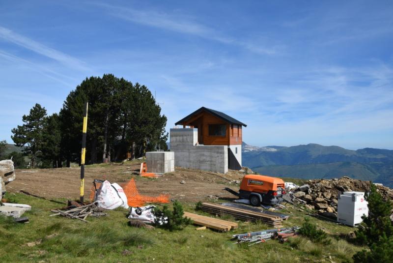 Construction télésiège fixe 4 places Bisorne (TSF4) - LST, Ax 3 Domaines Dsc_0023