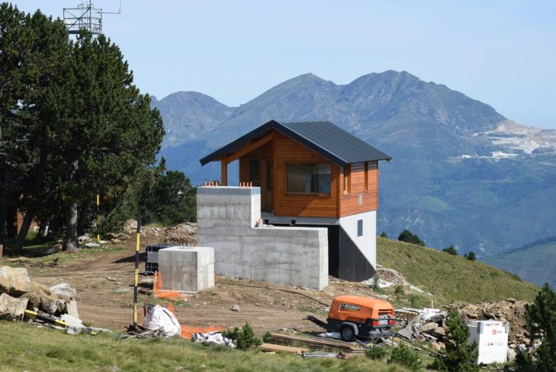 Construction télésiège fixe 4 places Bisorne (TSF4) - LST, Ax 3 Domaines Dsc_0027