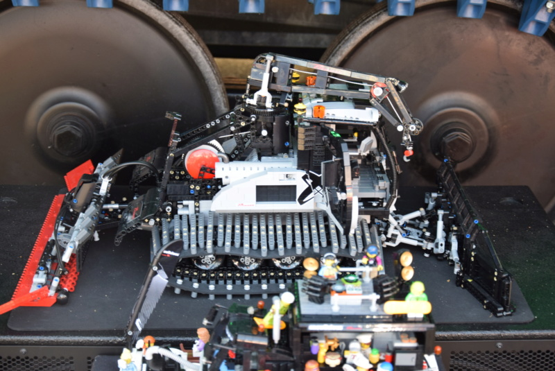 Prinoth Bison X miniature Lego Dsc_0120