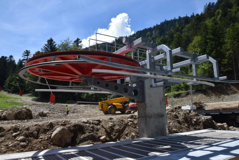 Construction télésiège fixe 4 places Bisorne (TSF4) - LST, Ax 3 Domaines Dsc_0129