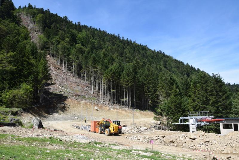 Construction télésiège fixe 4 places Bisorne (TSF4) - LST, Ax 3 Domaines Dsc_0135