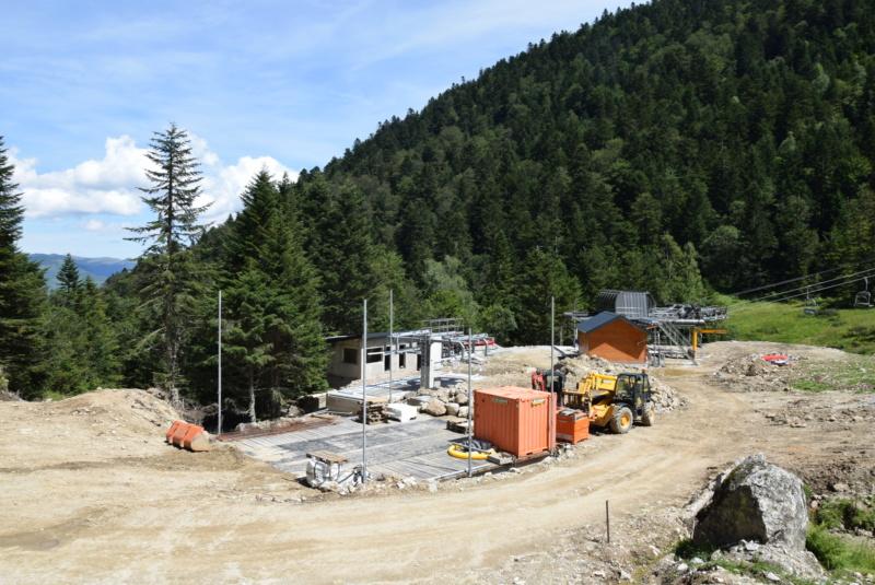 Construction télésiège fixe 4 places Bisorne (TSF4) - LST, Ax 3 Domaines Dsc_0137