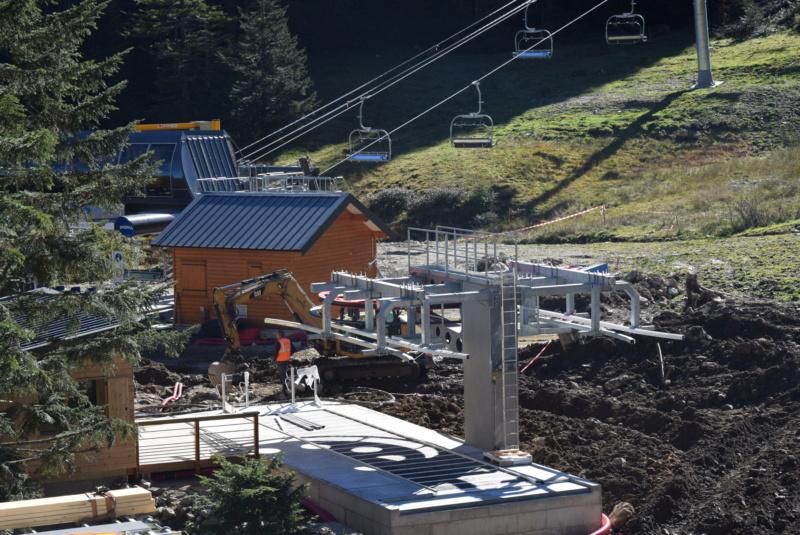 Construction télésiège fixe 4 places Bisorne (TSF4) - LST, Ax 3 Domaines Dsc_0373