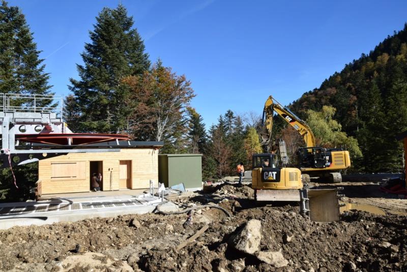 Construction télésiège fixe 4 places Bisorne (TSF4) - LST, Ax 3 Domaines Dsc_0378