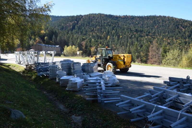 Construction télésiège fixe 4 places Bisorne (TSF4) - LST, Ax 3 Domaines Dsc_0383