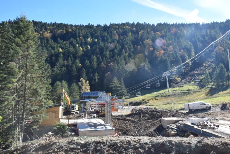 Construction télésiège fixe 4 places Bisorne (TSF4) - LST, Ax 3 Domaines Dsc_0388
