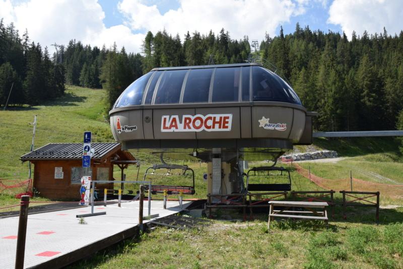 Télésiège débrayable 6 places (TSD6) La Roche  Dsc_0551