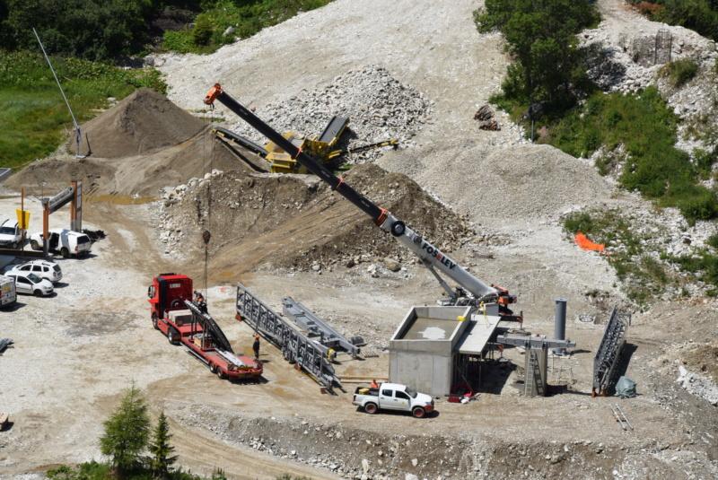 Construction télésiège débrayable Comborcière - Les Arcs (TSD4) Dsc_0911
