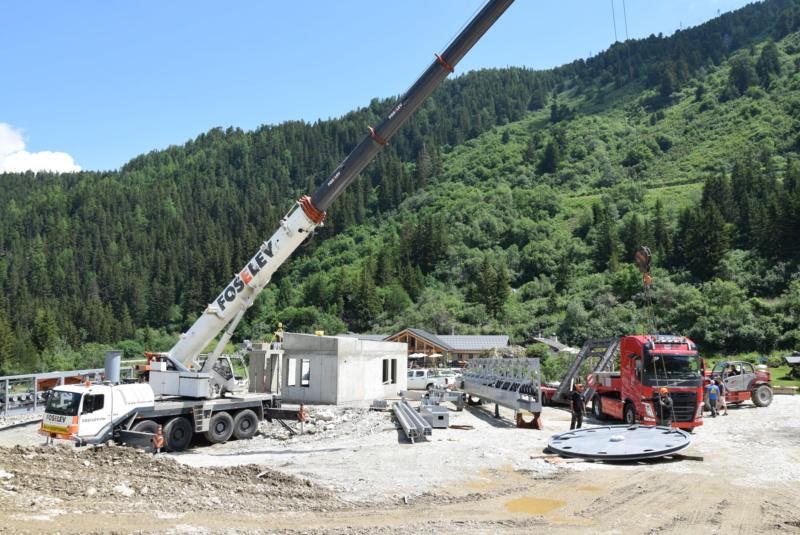 Construction télésiège débrayable Comborcière - Les Arcs (TSD4) Dsc_0912